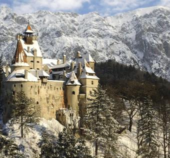 zámek hraběte Drákuly v Rumunsku - 135 milionů dolarů