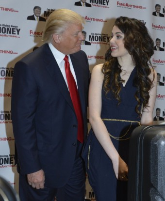 Donald Trump a Celeste Buckingham