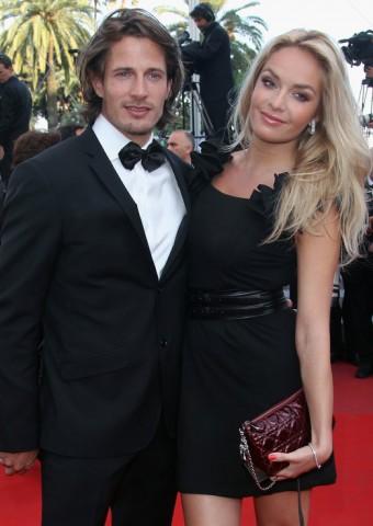 Taťána Kuchařová s přítelem Lanem Carlsonem v Cannes
