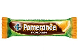 Pomeranče v čokoládě