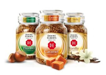 Ochucená instantní káva Douwe Egberts