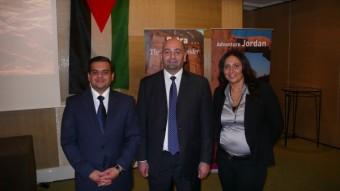 Jordánská delegace