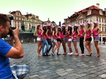 Finalistky iMiss 2013 a fotograf Dalibor Konopáč