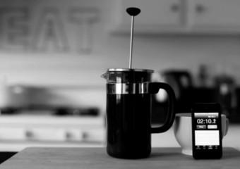 French Press - příprava kávy