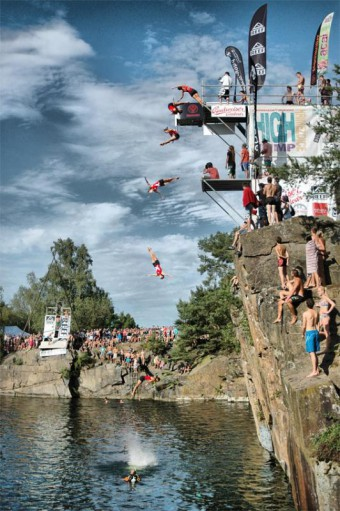 Skoky do vody Highjump 2013