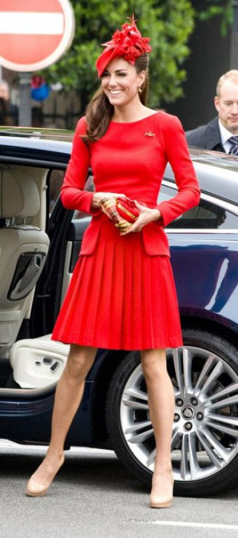 Kate Middleton, foto: DAVID KRUMP/DAILY MAIL/REX USA.