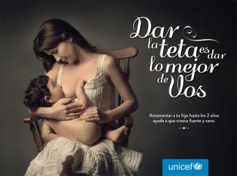 Natalia Oreiro v kampani UNICEF