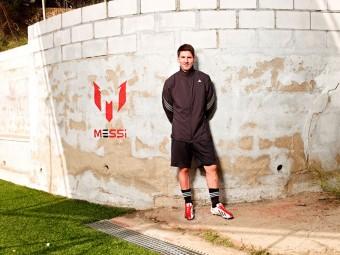 adidas představil osobní model Lea Messiho  – kopačku adizero™ f50
