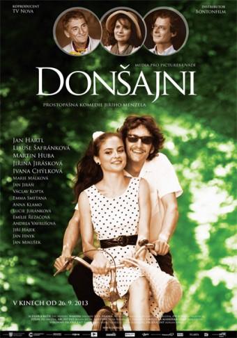 Oficiální plakát k filmu Donšajni