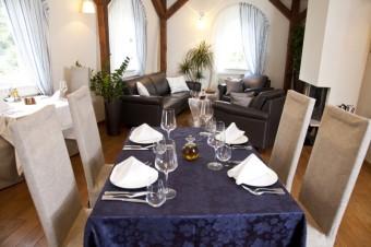 Interiér restaurace Chorvatský Mlýn