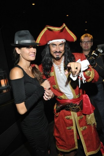 Petra Faltýnová s kapitánem Morganem, foto: Captain Morgan