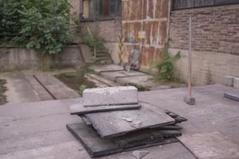 He Froze | kolekce z betonu, foto: Vojtěch Veškrna