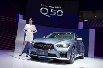 Q50 Shanghai Motorshow