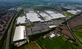 Výrobní závod v britském Sunderlandu