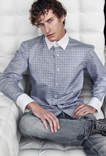 OFFICE - Dokonalá košile pro dokonalého muže na denní nošení do kanceláře.