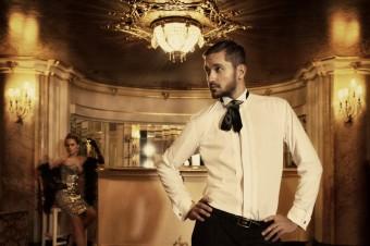 SPOLEČENSKÁ - Elegantní pánská košile podtrhne osobnost  a vhodně doplní slavnostní okamžik.