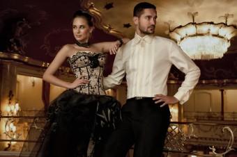 SVATEBNÍ -Nádherná klasická košile s kulatým límečkem, nadčasová elegance v pánském šatníku.