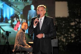 Moderátor večera Jan Čenský
