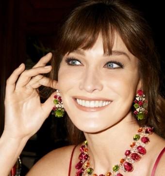 Carla Bruni-Sarkozy - Bulgari, kolekce Diva