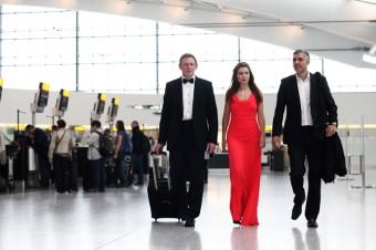 Angelina, George a Daniel byli na palubě Airbus A380