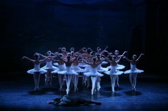 Čajkovského baletní klasika Labutí jezero v podání Moscow City Ballet