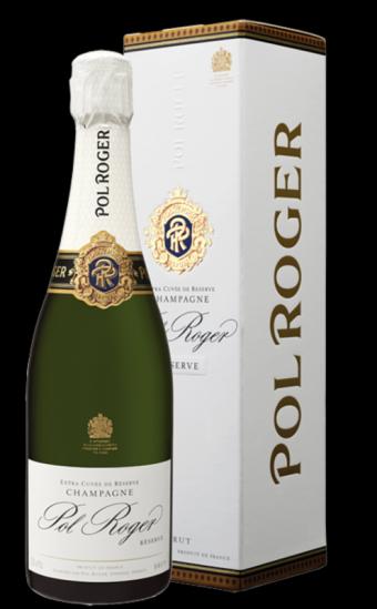 Pol Roger- francouzské šampaňské v dárkové krabici