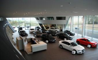 Nový Audi Terminal v Kyjově je jedinečný v celosvětovém měřítku