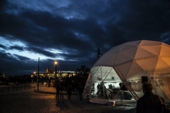Festivalové centrum, foto: Alžběta Jungrová