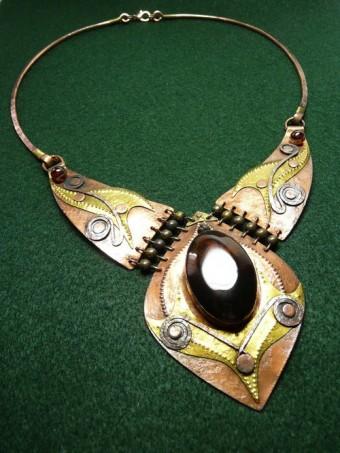Masivní šperky náhrdelník kip, foto: Fler.cz