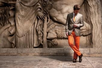 Oblek - vizitka muže
