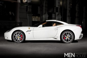 Test Ferrari California, Menhouse
