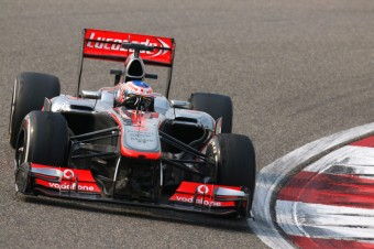 Jenson Button v akci, Foto: McLaren