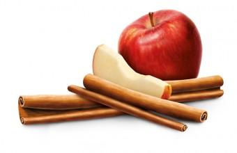 Hřejivý ráj s chutí jablka a skořice