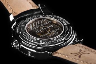 Zadní strana hodinek