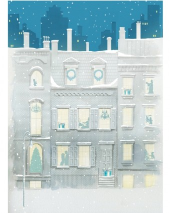 Tiffany & Co odhaluje své legendární vánoční výlohy