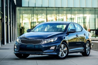 Kia Upgraded Optima Hybrid