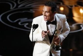 Nejlepší here Matthew McConaughy, Foto: REUTERS, Lucy Nicholson