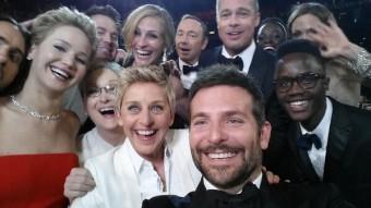Twitterový snímek Ellen DeGeneres, Foto: Twitter