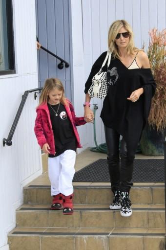 Heidi Klum s dcerou