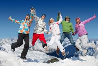 Dovolená uprostřed lyžařského areálu