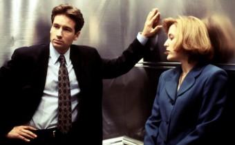 Mullder a Scullyová, foto: profimedia